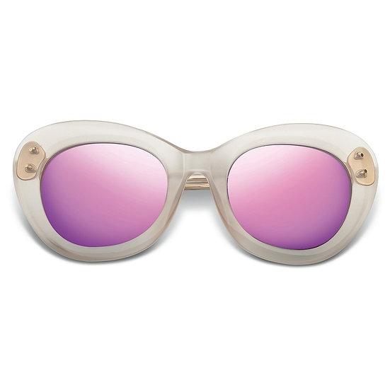 IVI Vision Faye Polished Nude - Polished Champagne/Super Bronze Lens Sunglasses