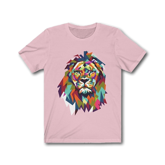 Women's Great Colorful Lion T-Shirt