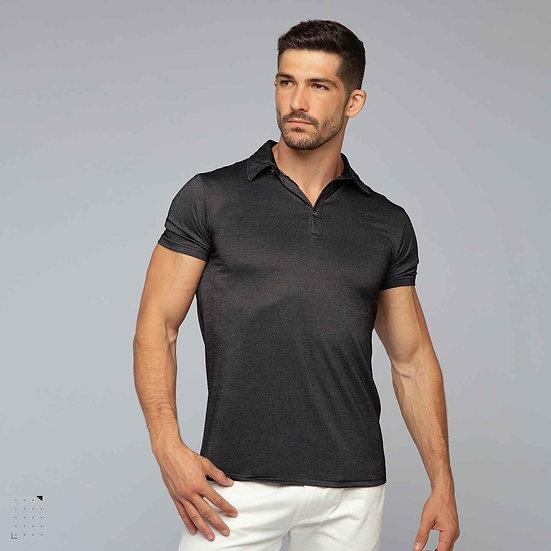 Mens Carbon Fiber POLO Shirt