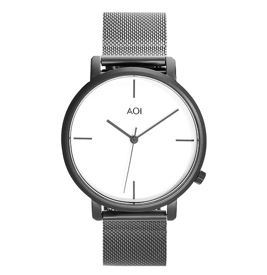 Womens KYOTO | 1.0 Watch With Genuine Leather Strap & Stainless Steel Mesh Strap