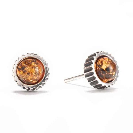 AMBER Men's Gear Earrings