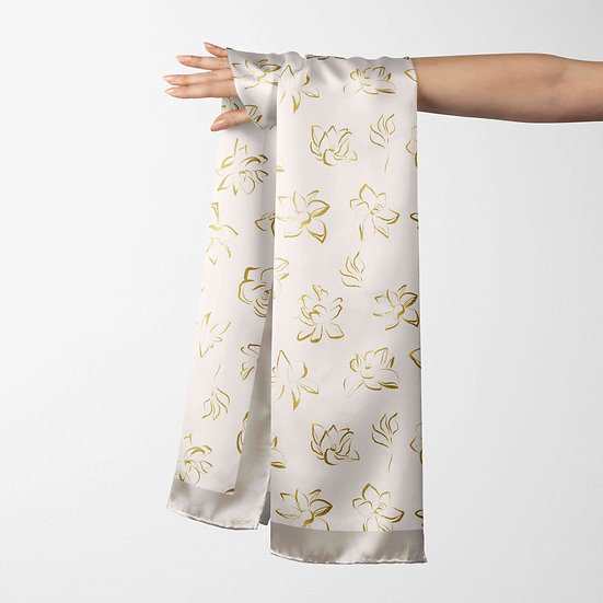 éanè SILKEN23 - 100% Pure Silk Scarf