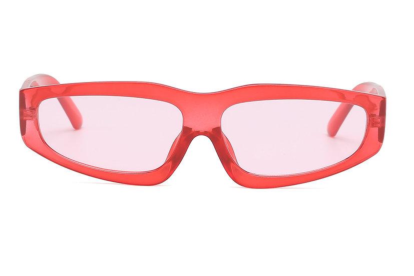 Akcessoryz Asuka Sunglasses - Red