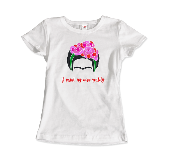 Women's Clothing Frida Kahlo - I Paint My Own Reality - Quote T-Shirt