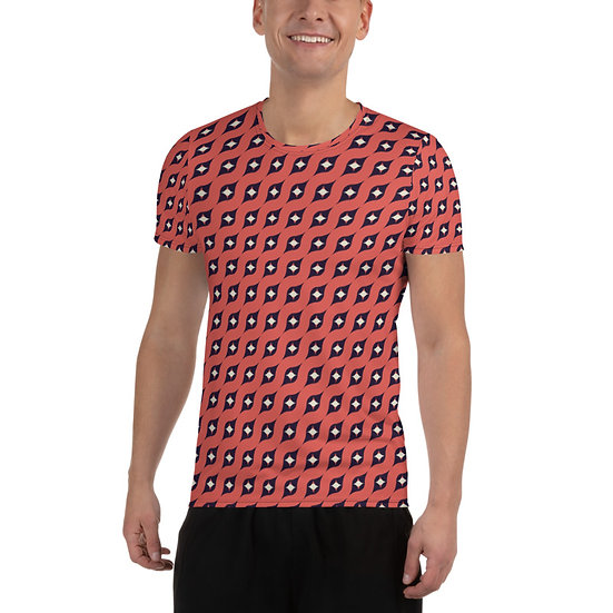éanè DESIGN Activewear Men's Athletic T-shirt - TEMPA2A