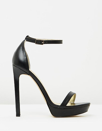 Izoa Cara Heels Black (SIZES 37, 39 & 41 ONLY)