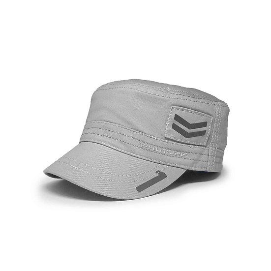 Mach 1 Hero Lunar Grey Military Style Cap