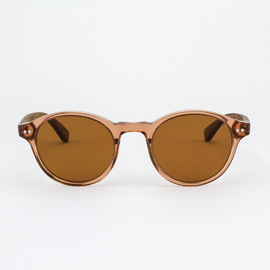 Tommy Owens Collier Acetate and Wood Sunglasses - Champaign
