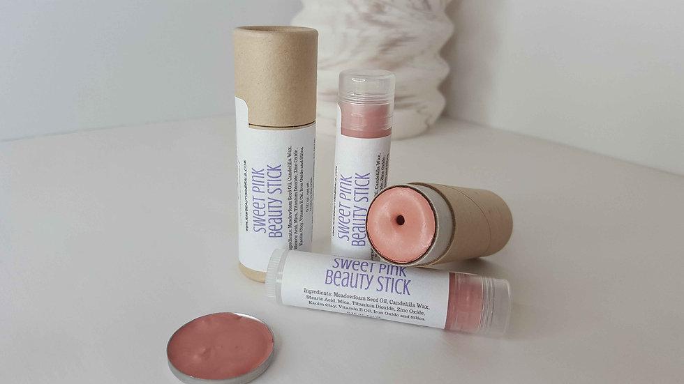 Women's Sweet Pink Lip and Cheek Stain | Cream Blush