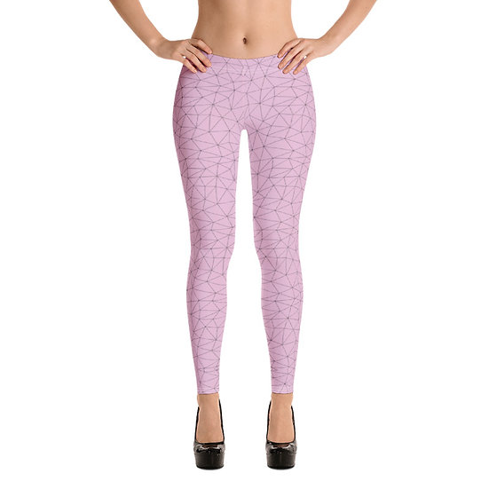 Womens Leggings #3 - Pink