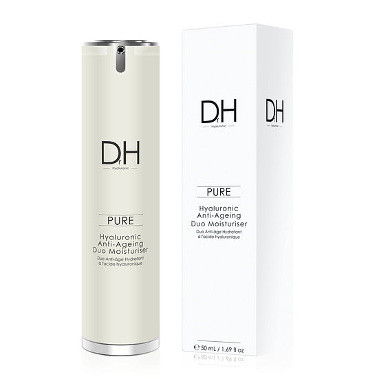 Women's Dr H Hyaluronic Acid Anti-Ageing Duo Moisturiser 50ml