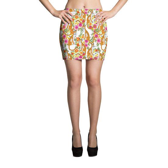 éanè Mini Skirt - Staffordshire Mid Thigh Length