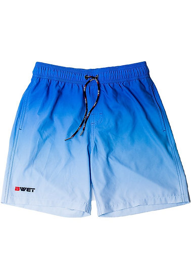 """Eco-Friendly Quick Dry UV Protection Perfect Fit BLUE Beach Shorts """"Su"""