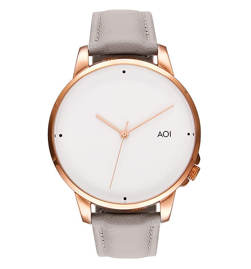 Womens OSAKA | 3.1 Watch in Rose Gold With Genuine Leather Strap Japanese Quartz
