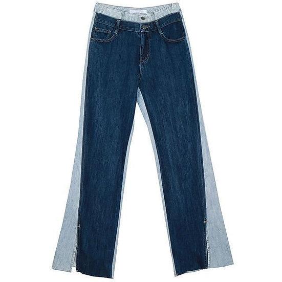Women's Sawako Loose Denim Wide Leg Pants
