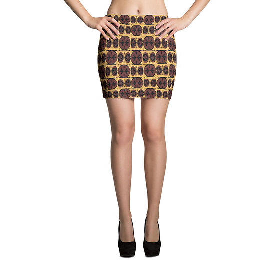 éanè Mini Skirt - Apollo Mid Thigh Length