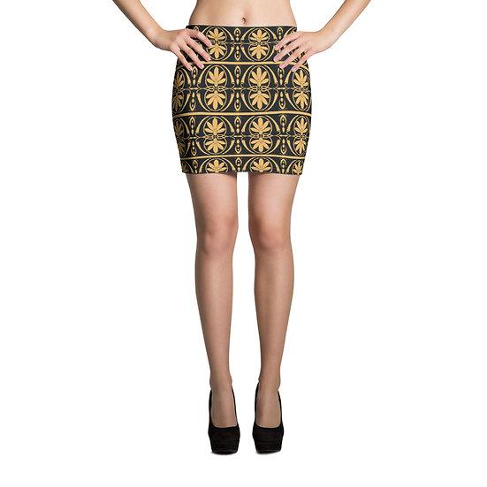 éanè Mini Skirt - Apollo Mid Thigh Length