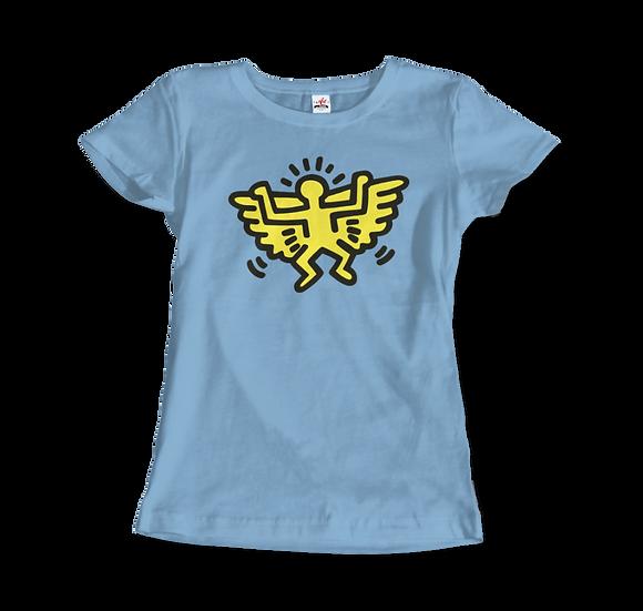 Women's Keith Haring Angel Icon, 1990 Street Art T-Shirt