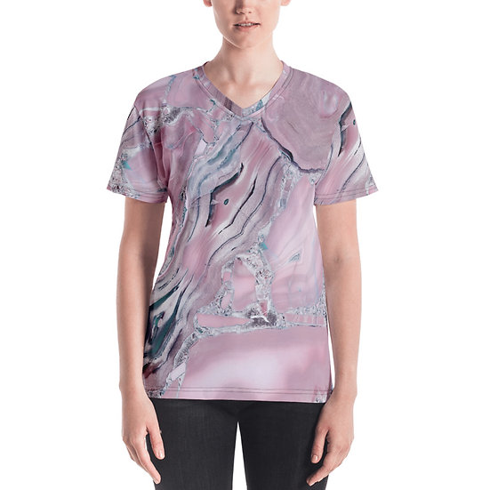 éanè Exclusive WATERCOLOURMARBLE - Pink Tone Tee