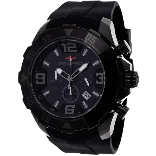 Men's SEAPRO Diver Chronograph Watch in Black