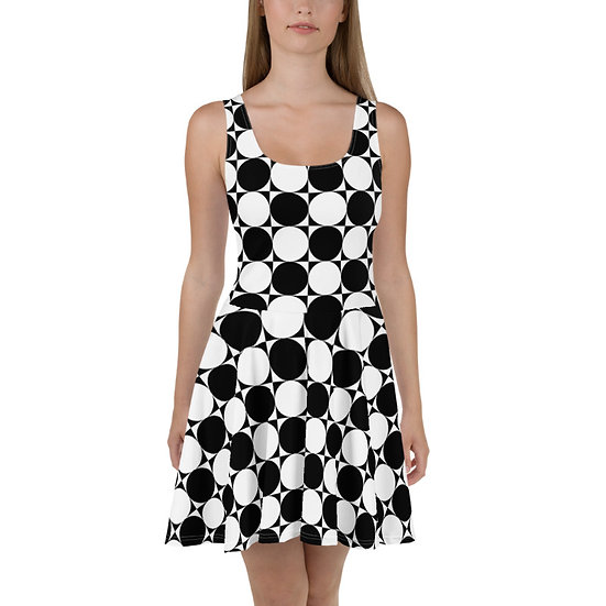 éanè SEAMLESSGEO3 - Skater Dress