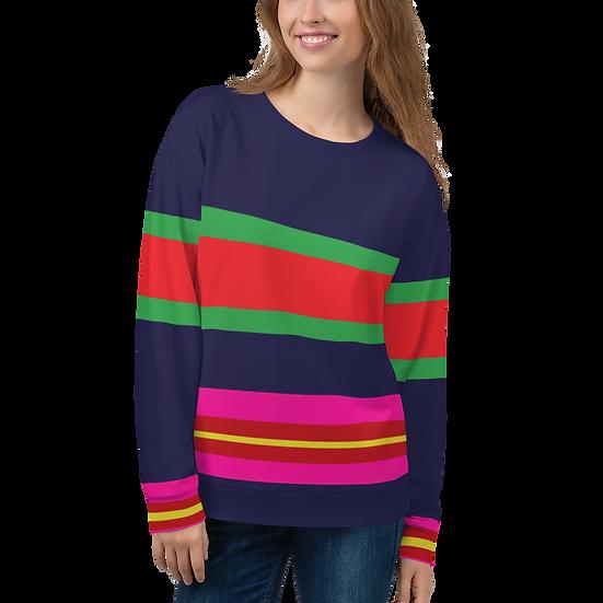 Italia Stripe Sweatshirt
