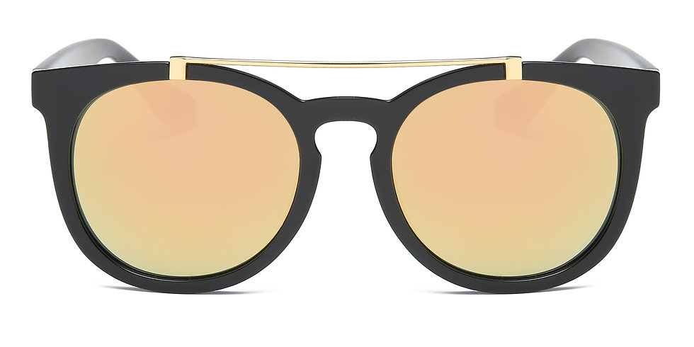 Akcessoryz Vera Sunglasses - Peach / Black