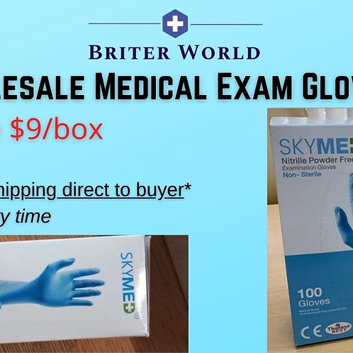 Wholesale Medical Exam Nitrile Gloves - FDA & CE Approved