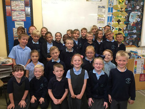 Mrs Hardie and Mrs Borosczky - Look at us!