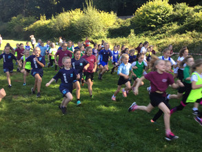 First cross country event