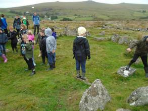 Mrs Butchers' class visit Dartmoor