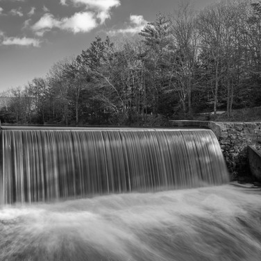 Black & White Conant Dam
