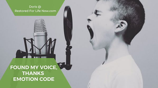 little boy shouting in a microphone
