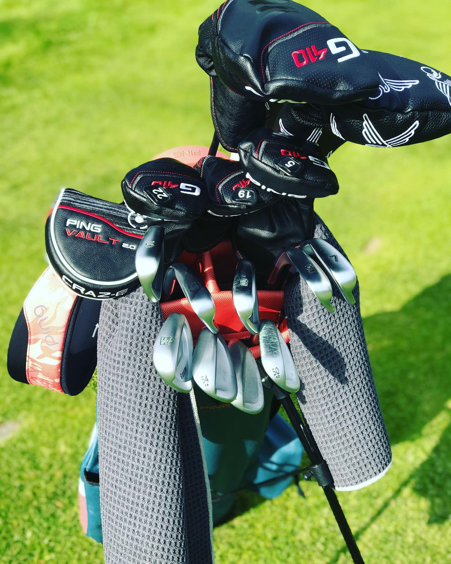 FULL BAG CLUB FITTING WITH PING GOLF