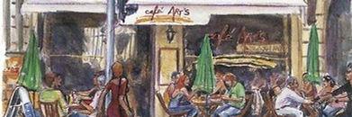 Logo du Café Art's Genève où Sacha s'est produite en magie