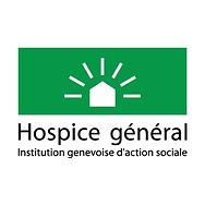 Logo de l'Hospice Général Genève où Sacha a annimé les fêtes de Noël
