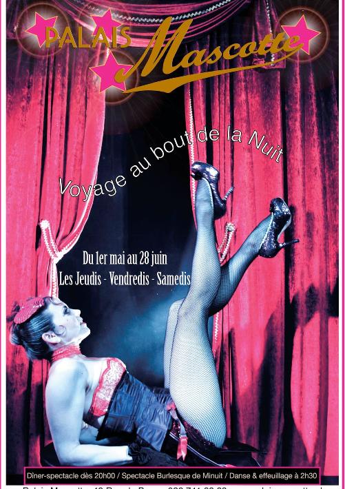 affiche de spectacles Sacha