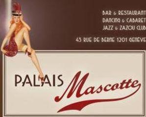 Logo du Palais Mascotte à Genève où Sacha s'est produite