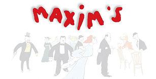 Logo de Maxim's Genève où Sacha à joué en Cabaret