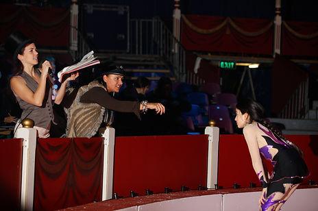 Circus Magie Mise en scène Mise en Piste Cabret Show
