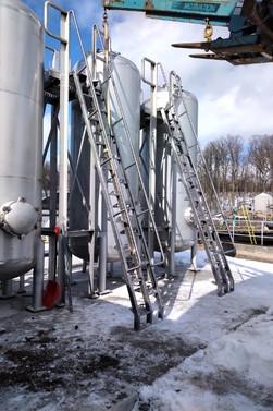Alternating Stair Install