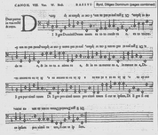 William Byrd's palindrome for eight voices