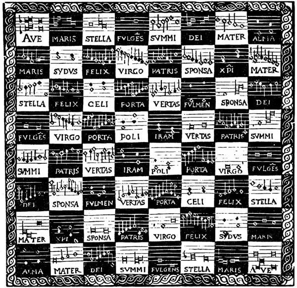 Danckerts' chessboard canon