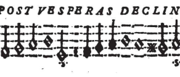 The solution to 'Sol post vesperas declinat'