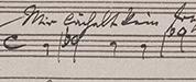 Brahms' chromatic innovation, WoO 25