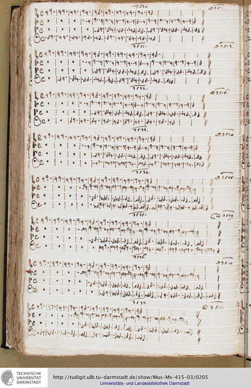one of many hunreds of pages from the manuscript