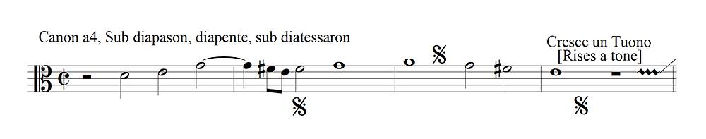 enigmatic canon per tonos by Paolo Agostini