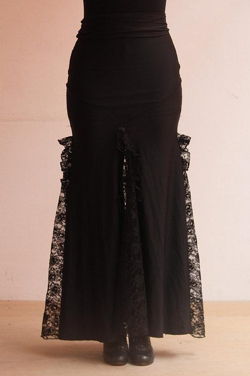 Falda para ensayo