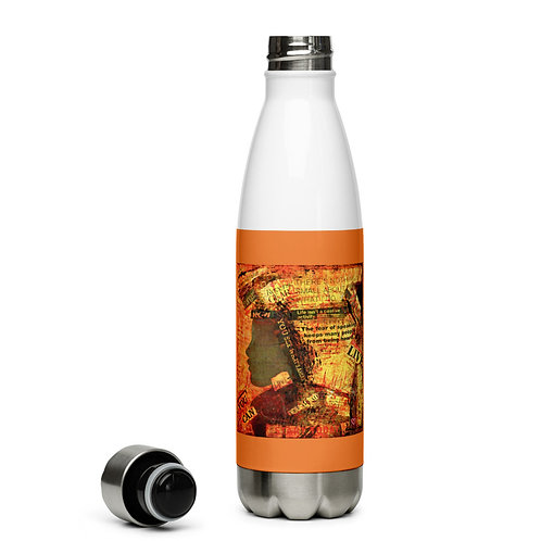 Enough - Stainless Steel Water Bottle