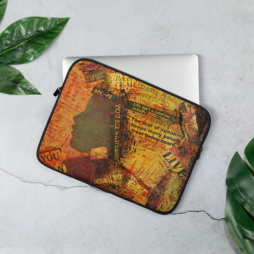 Enough - Laptop Sleeve